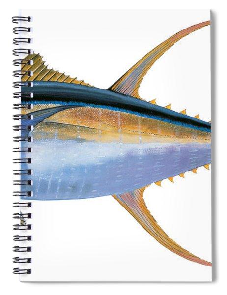 Yellowfin Tuna Spiral Notebook