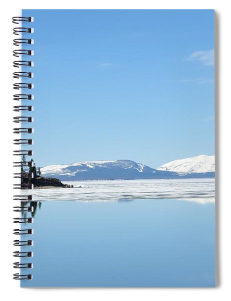 Yellowstone Lake In The Spring Spiral Notebook