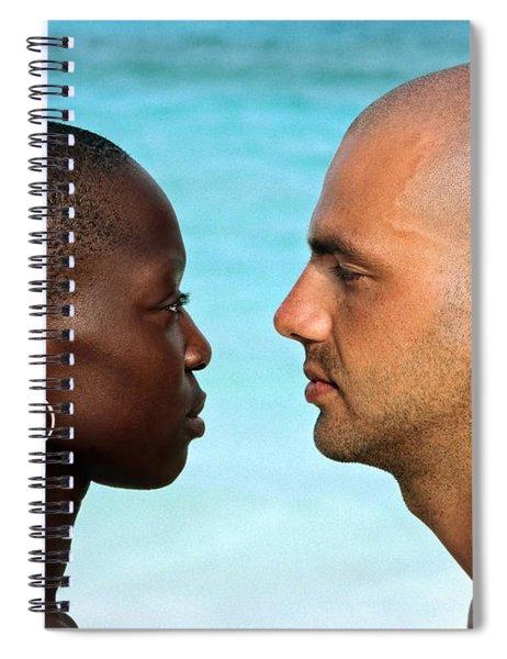 Yin Yang Spiral Notebook by Skip Hunt