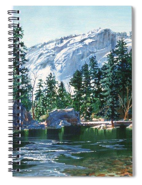 Yosemite Mirror Lake Spiral Notebook