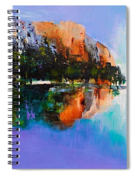 Yosemite Valley Spiral Notebook