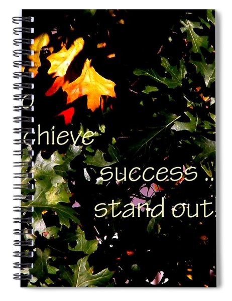 You Are Outstanding 21079 Spiral Notebook