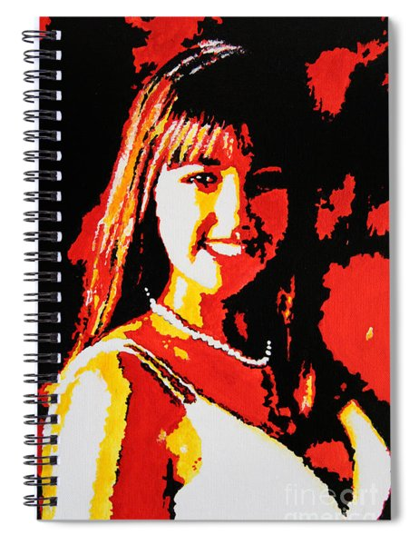 Young Opera Singer Spiral Notebook