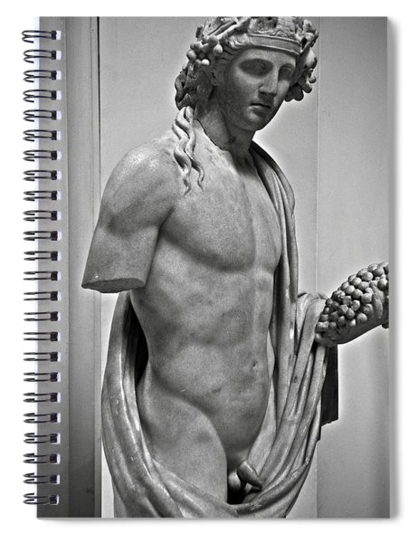Youthful Dionysus Spiral Notebook