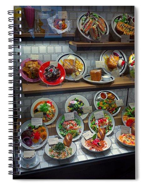 Plastic Food Display - Kyoto Japan Spiral Notebook