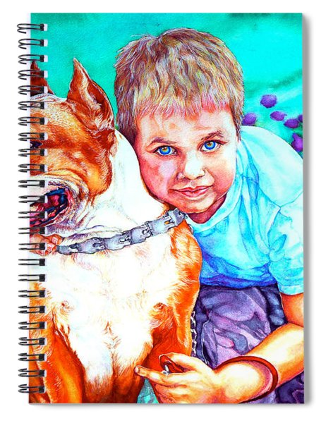 Zac And Zuzu Spiral Notebook