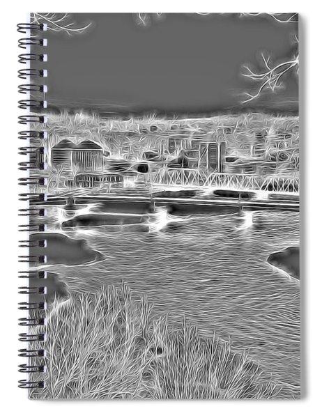 Zanesville Ohio Ybridge Spiral Notebook