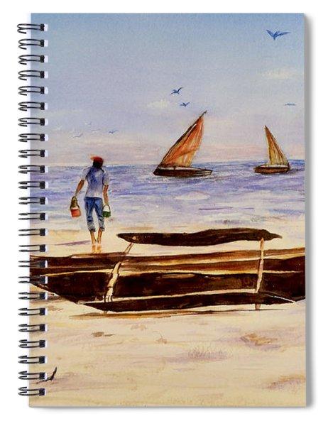 Zanzibar Forzani Beach Spiral Notebook