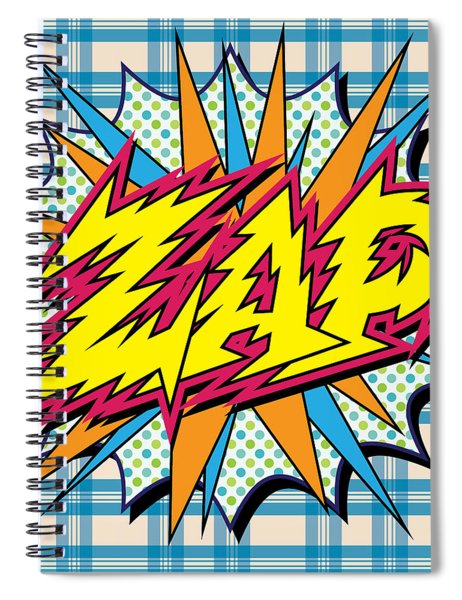 Zap Spiral Notebook