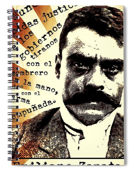 Zapatismo Spiral Notebook