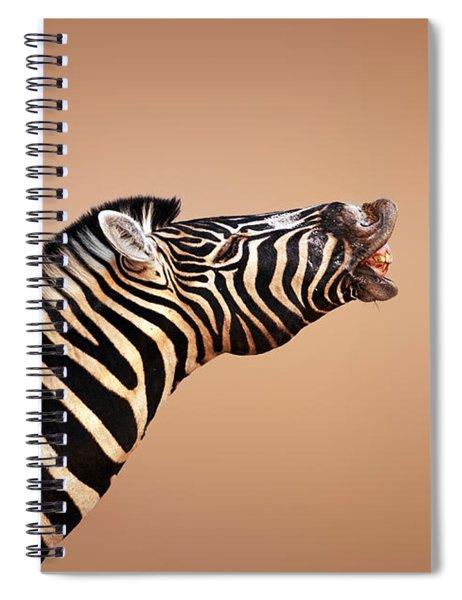 Zebra Calling Spiral Notebook