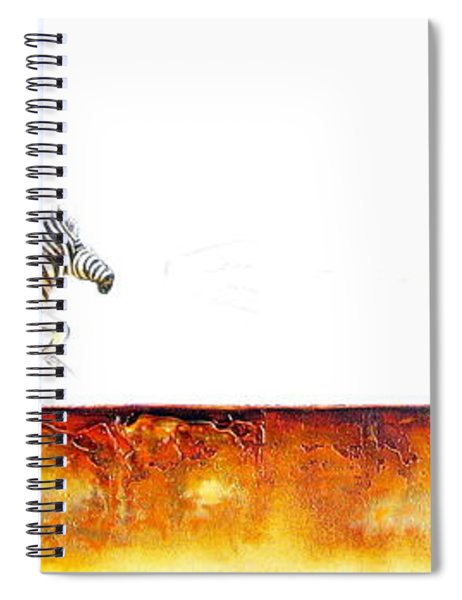 Zebra Crossing - Original Artwork Spiral Notebook