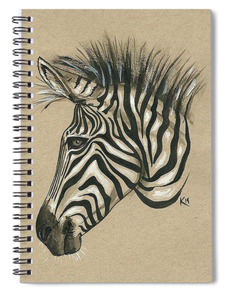 Zebra Profile Spiral Notebook