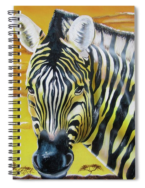 As Day As Night Spiral Notebook