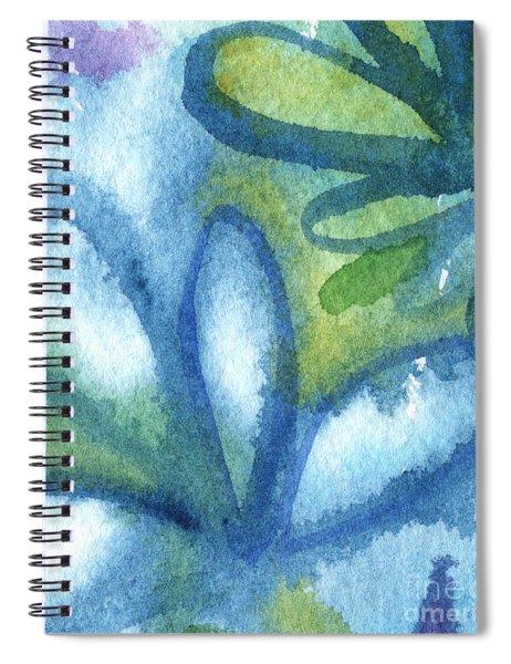 Zen Leaves Spiral Notebook
