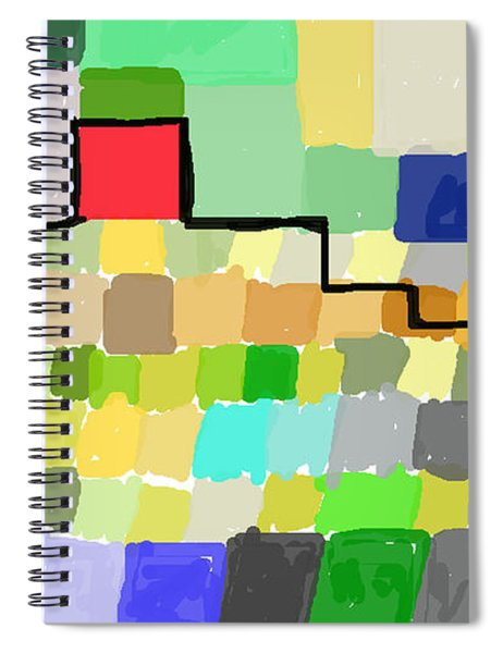 Ziggurat Spiral Notebook