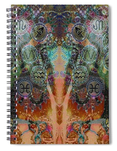 Zodiac Spiral Notebook