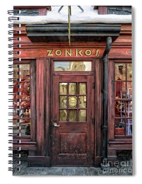 Zonkos Joke Shop Hogsmeade Spiral Notebook