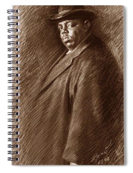 Notorious B I G  Spiral Notebook