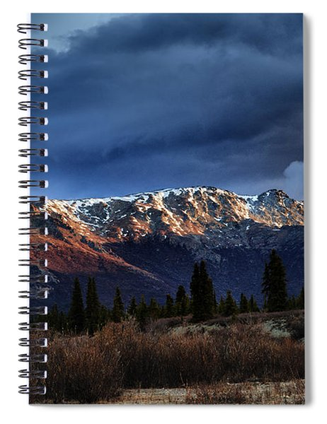 Alaskan Morning Spiral Notebook
