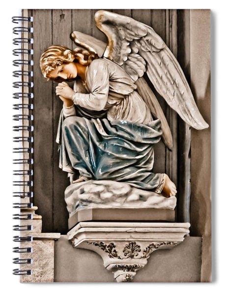 Albuquerque, New Mexico - Angel Spiral Notebook