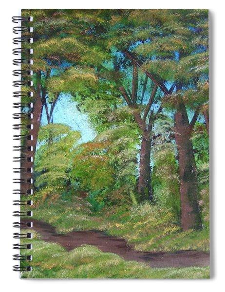Autumn Evening Spiral Notebook