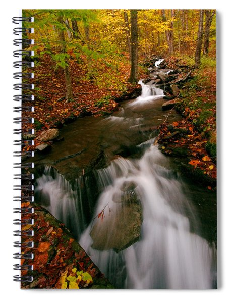 Autumn In New York Spiral Notebook