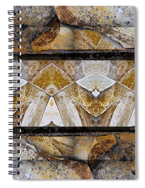 Between Tides Number 11 Square Spiral Notebook
