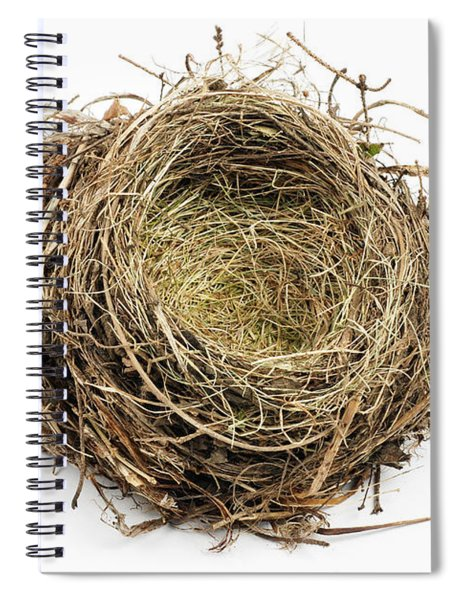 Birds Nest Spiral Notebook