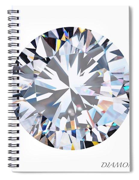 Brilliant Diamond Spiral Notebook