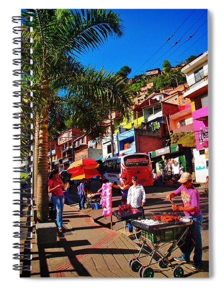 Spiral Notebook featuring the photograph Candy Man by Skip Hunt
