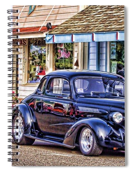 Classic Car Show Spiral Notebook