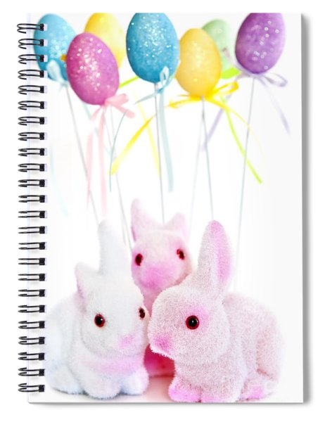 Easter Bunny Toys Spiral Notebook