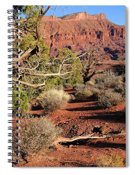 Fisher Towers At Sunset Spiral Notebook
