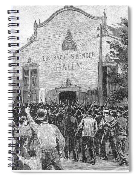 Homestead Strike, 1892 Spiral Notebook