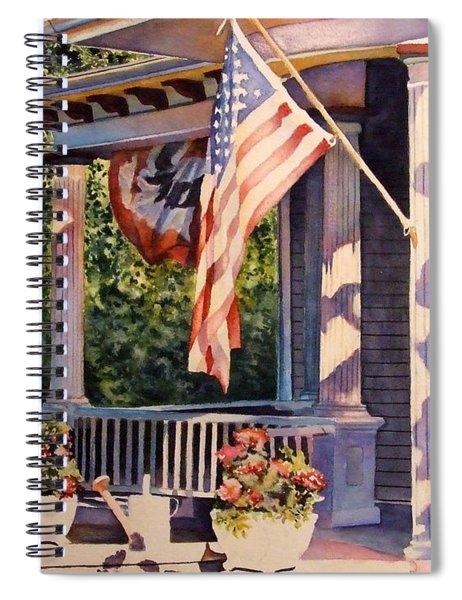 Hot August Night Spiral Notebook