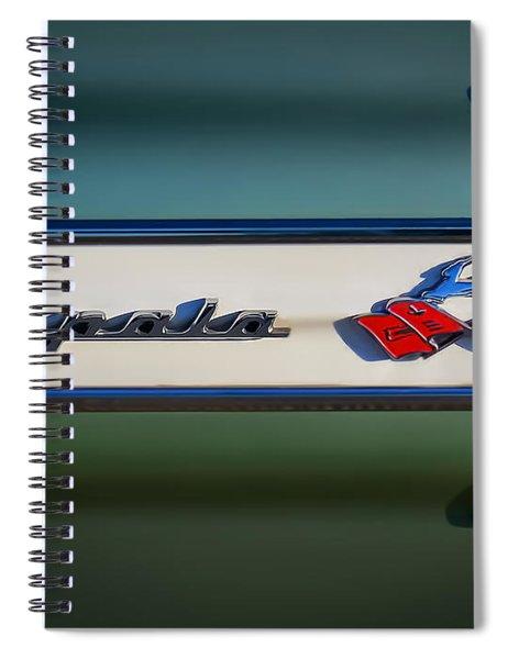 Impala Brightwork Spiral Notebook