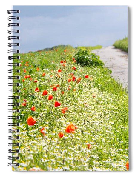 In Summertime Spiral Notebook