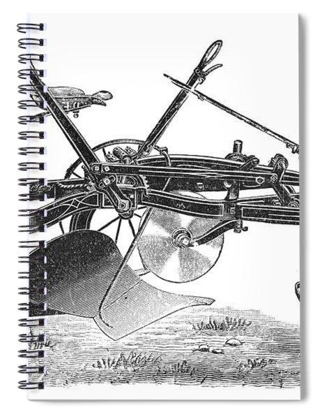 John Deeres Riding Plow Spiral Notebook