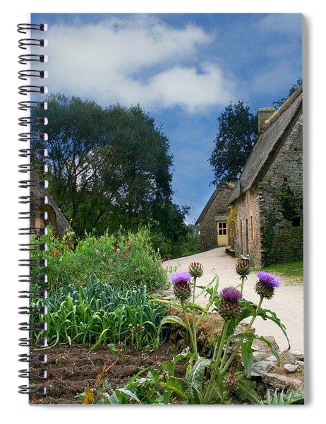 Medieval Village Spiral Notebook