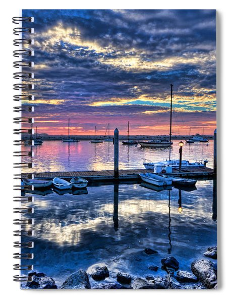 Morro Bay Wonder Spiral Notebook