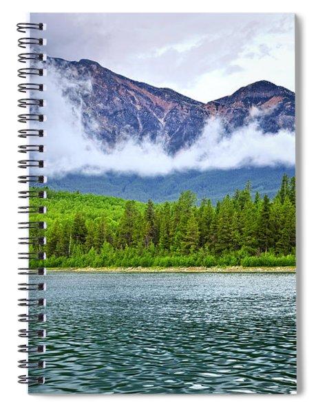 Mountain Lake In Jasper National Park Spiral Notebook