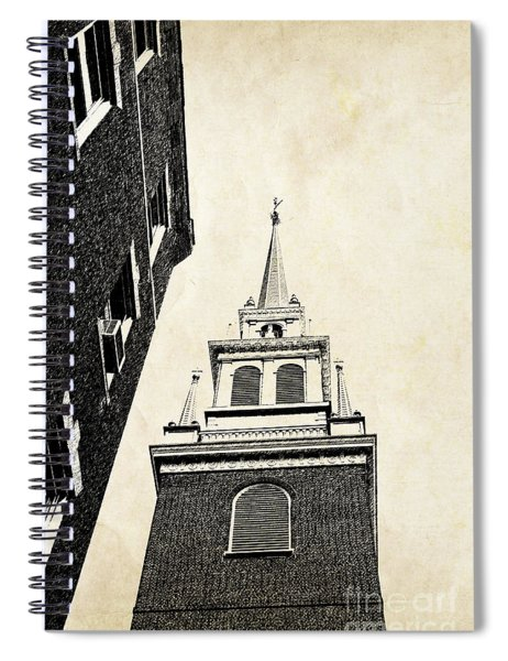 Old North Church In Boston Spiral Notebook