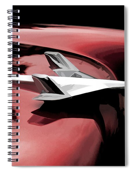 Red Chevy Jet Spiral Notebook
