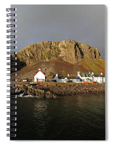 Seil Island Spiral Notebook