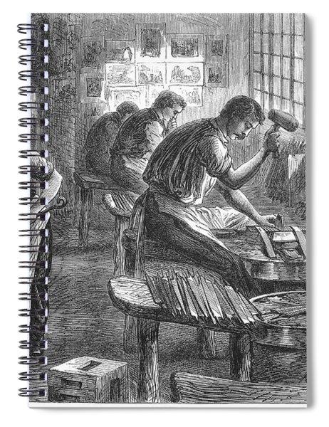 Sheffield: Factory, 1866 Spiral Notebook