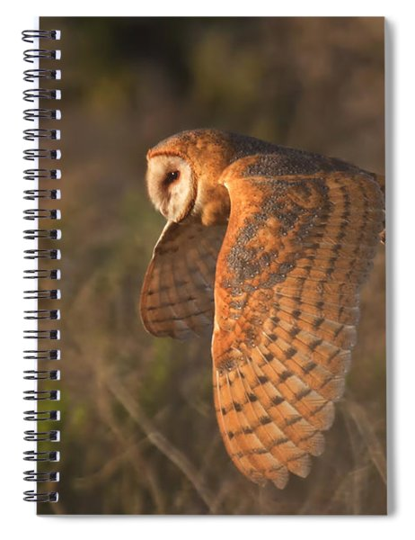 Silent Hunter Spiral Notebook