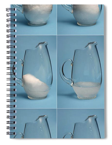 Snow Melting Spiral Notebook