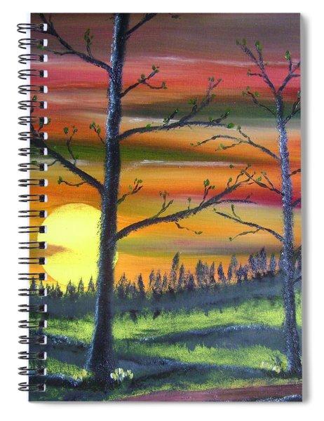 Spring Sunrise Spiral Notebook