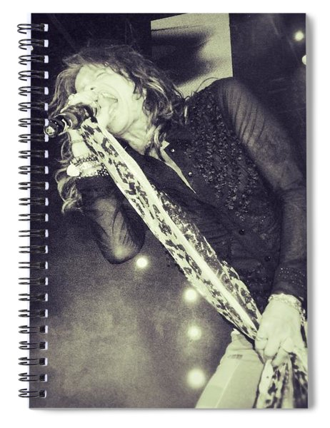 Steven Tyler In Concert Spiral Notebook
